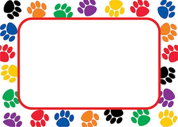 736x526 Paw Clipart Divider