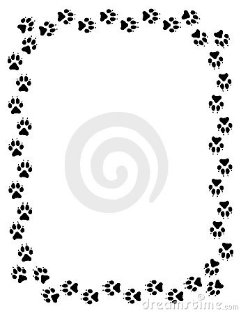 346x450 Wolf Clipart Dog Tracks