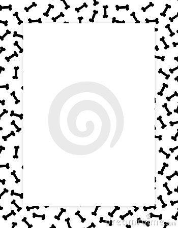 350x450 Bones Border Clip Art Clipart