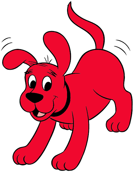 441x560 Clifford The Big Red Dog Clip Art Images Cartoon