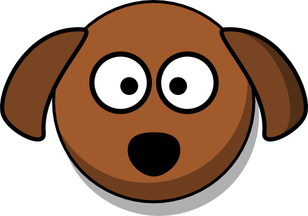 600x421 Dog Head Cartoon Clip Art