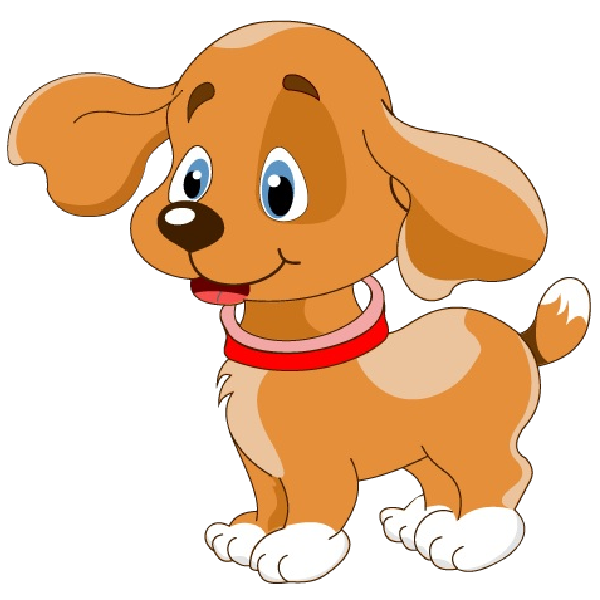 600x600 Puppy Cute Puppies Dog Cartoon Images Clip Art