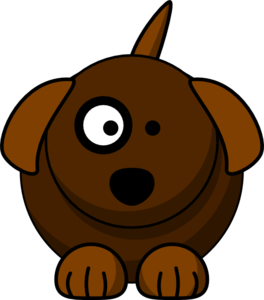 264x300 Cartoon Dog Clip Art