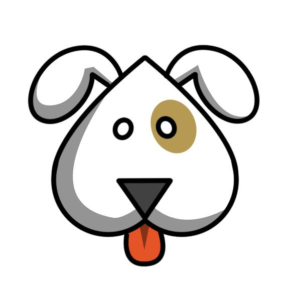 576x576 Cartoon Dog Clipart