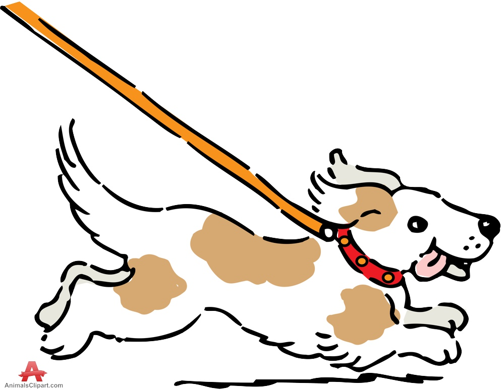 Dog Clipart Coloring Free Download Best Dog Clipart Coloring On