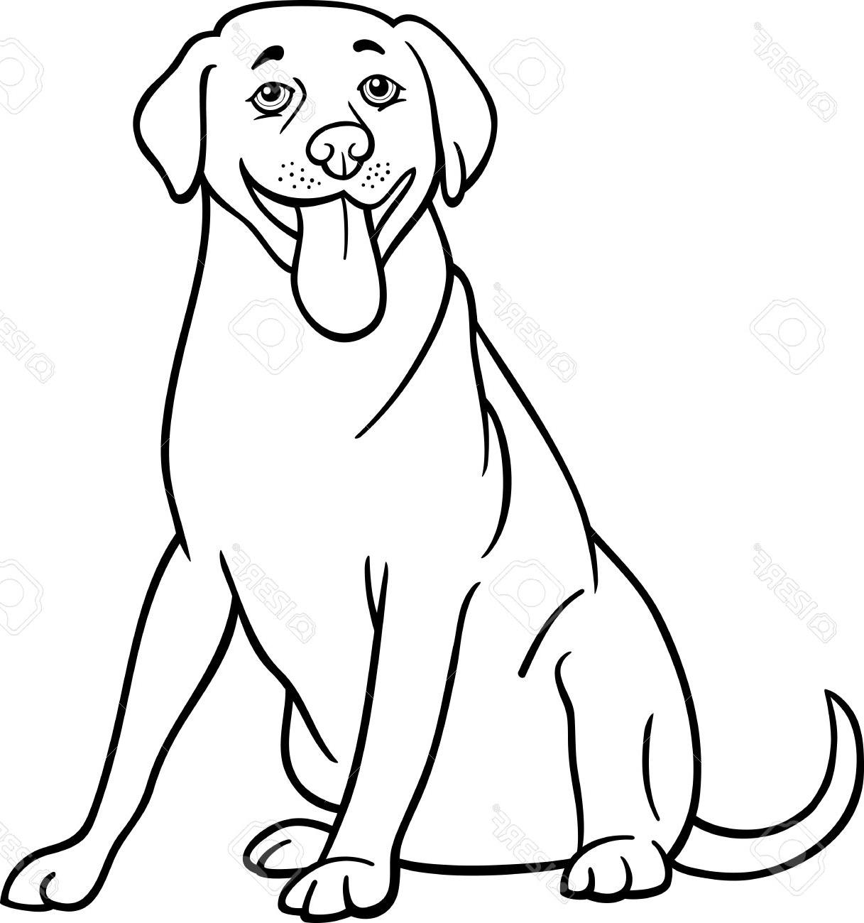 1217x1300 Top And White Cartoon Lab Dog Clipart Black Images