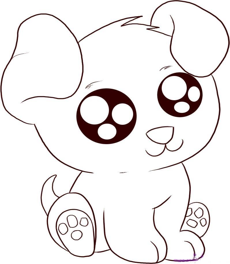 798x914 Cute Puppy Cartoon Images
