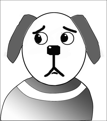 360x405 How To Draw A Dog In Simple Steps The Easy Way