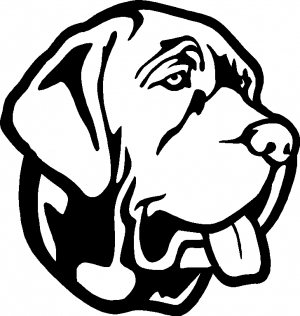 300x316 Mastiff Clipart Easy Dog
