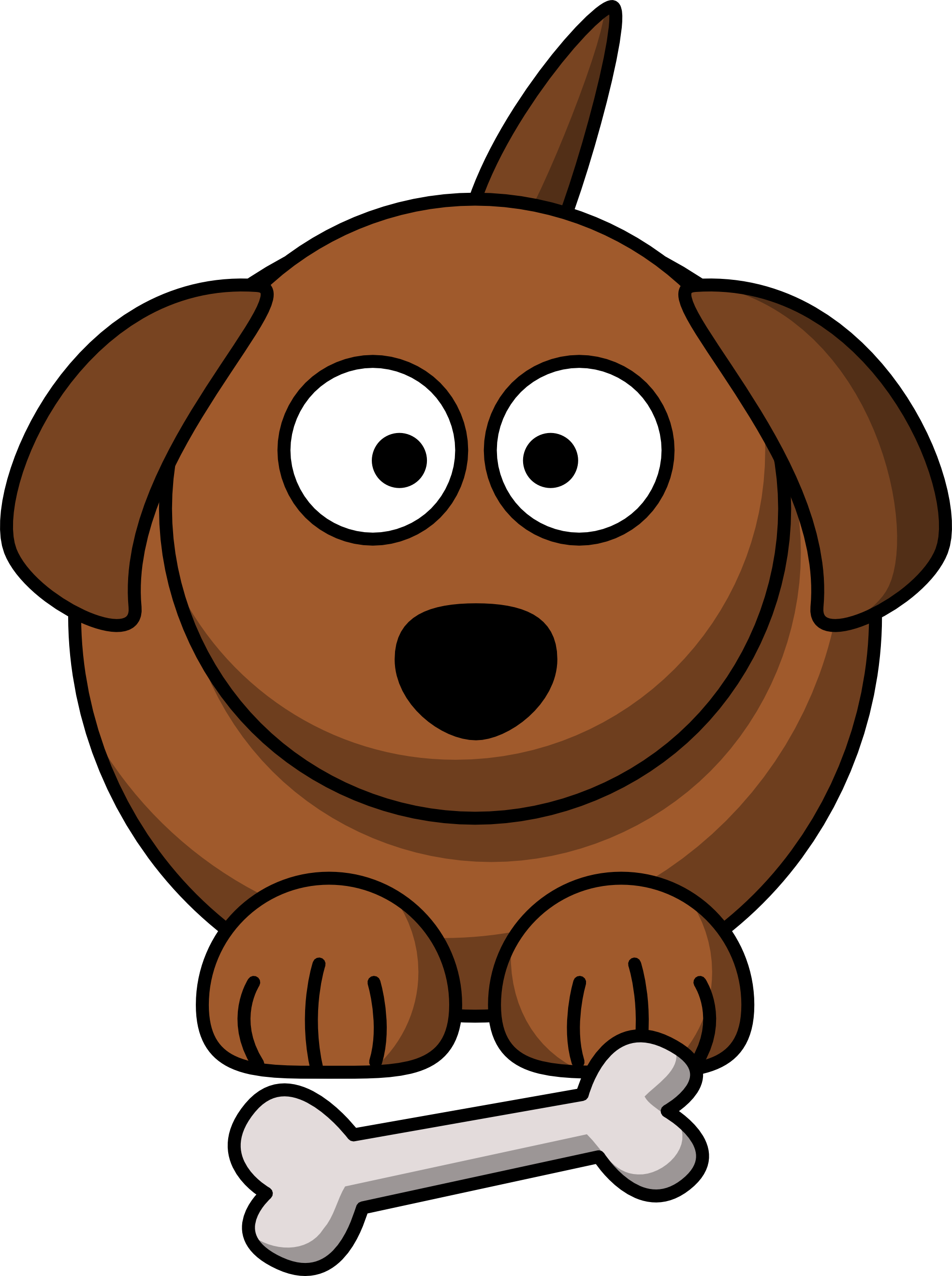 1969x2640 Puppy Clipart Easy Dog