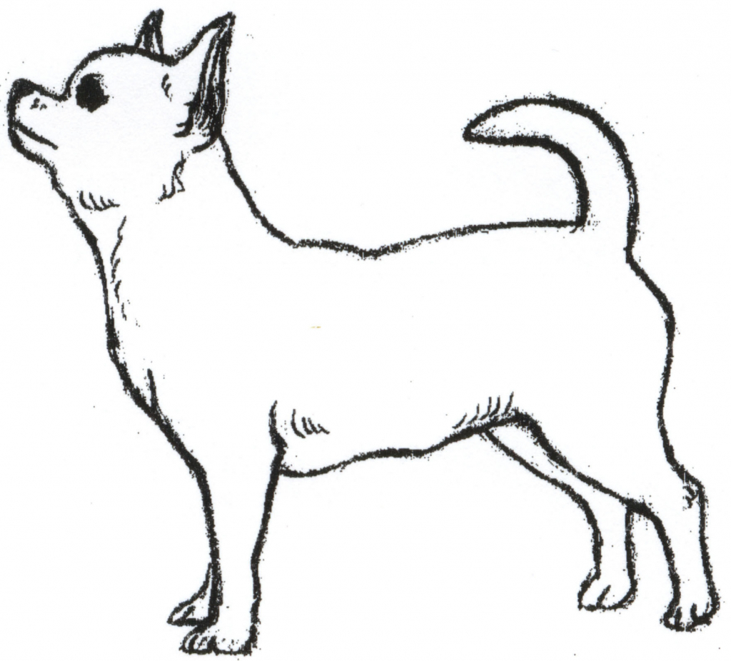 1024x926 Simple Drawing Of A Dog Ba Dog Pets And Animals Easy Drawing How