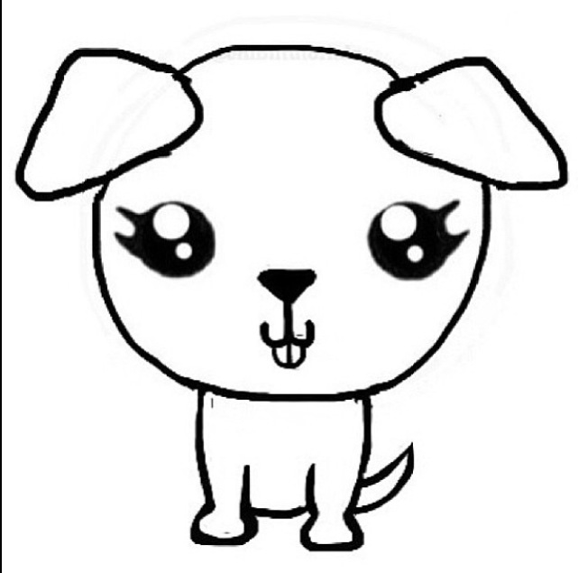 641x635 Chibi Dog Stencil All Thing Chibis Chibi, Eye