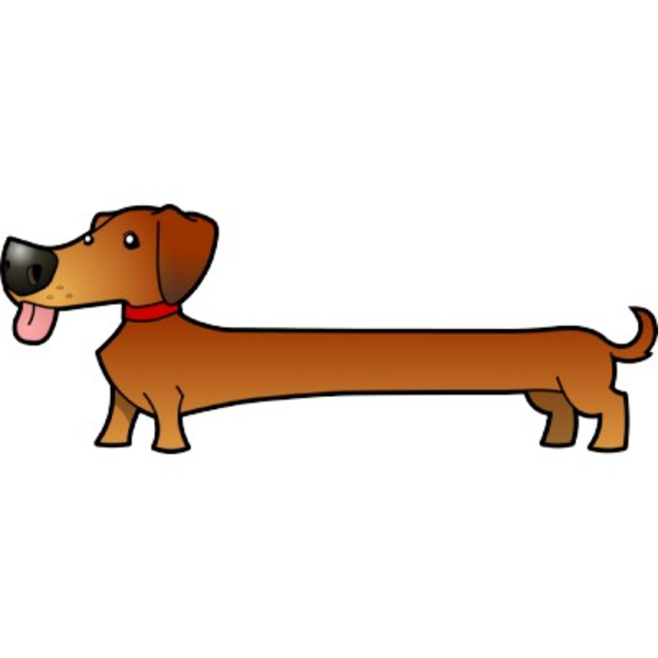 600x600 Free Dachshund Clipart Co Clipart Kid Image