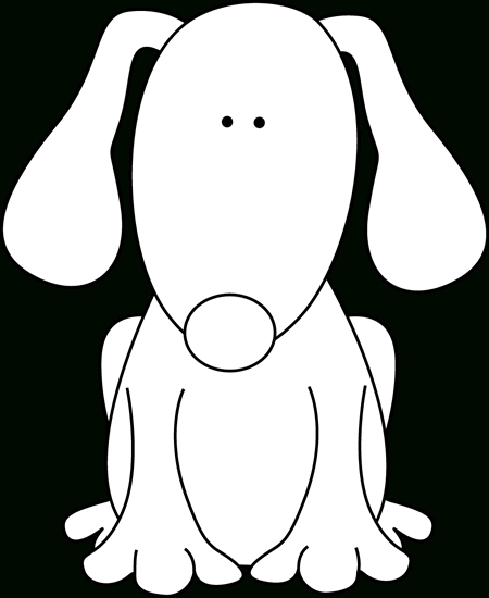 450x550 Top 10 Clipart Black And White Dog