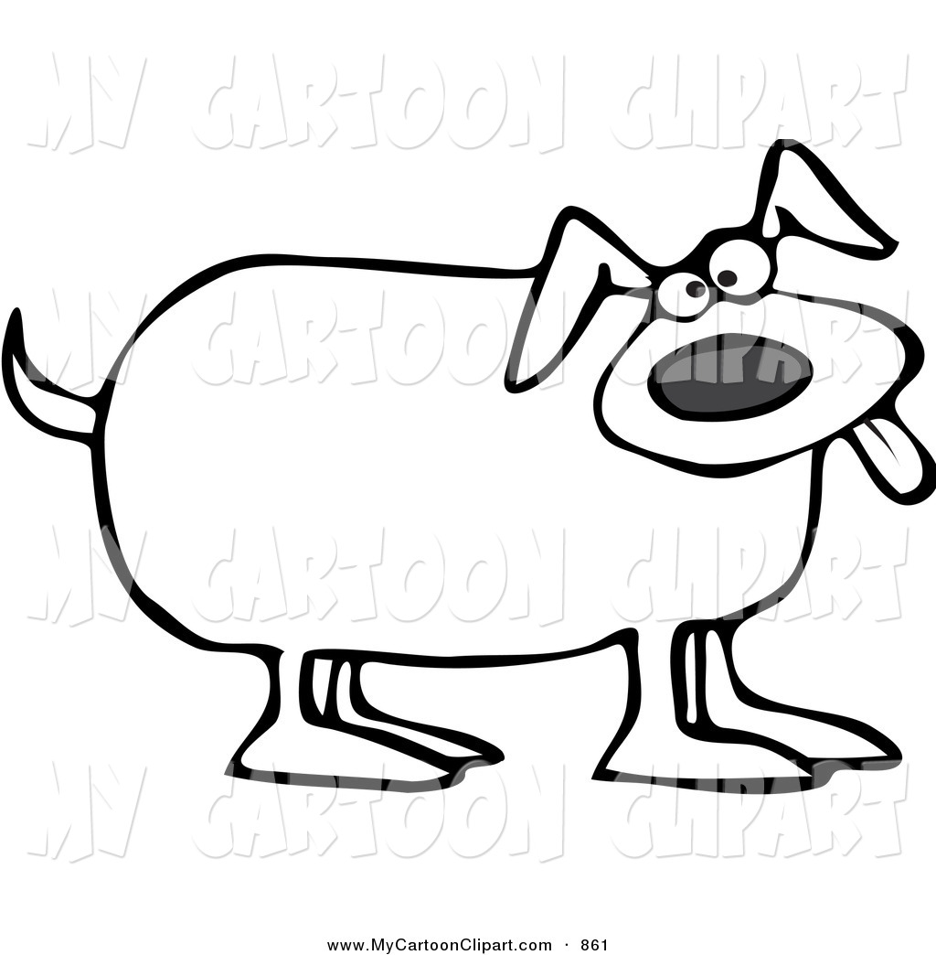 Dog Clipart Images Black And White