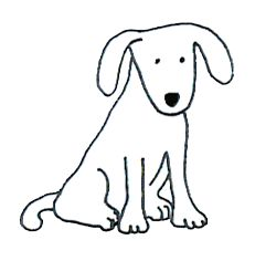 231x236 Dog Simple Drawing Clip Art Dogs Simple Drawings