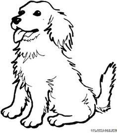 236x270 Furry Dog Clipart