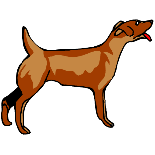 508x508 Barking Dog Clip Art Archives