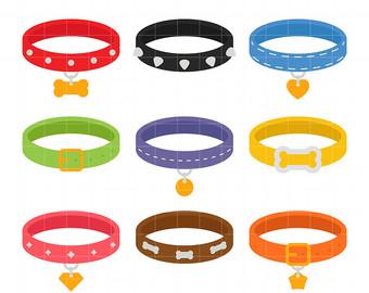 340x270 Dog Collar Clipart Etsy
