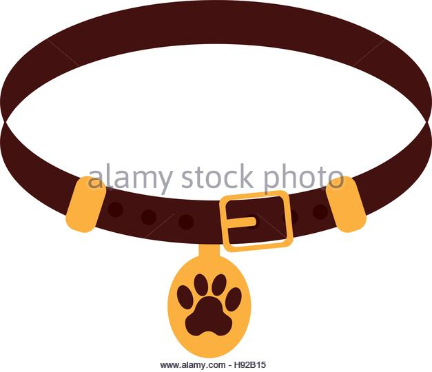 627x540 Pet Collar Isolated Icon Vector Stock Photos Amp Pet Collar Isolated