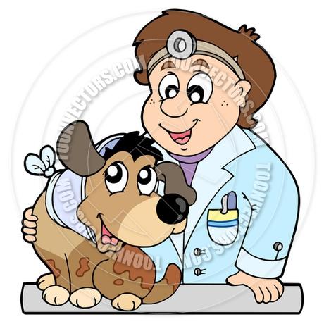 460x460 Cartoon Dog With Collar