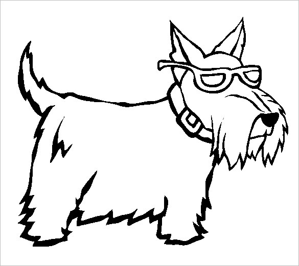 Dog Coloring Pages | Free download best Dog Coloring Pages on ...