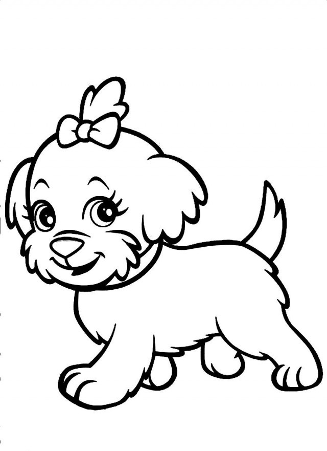 640x881 Download Polly Pocket 39 S Favorite Pet A Cute Dog Coloring 119806