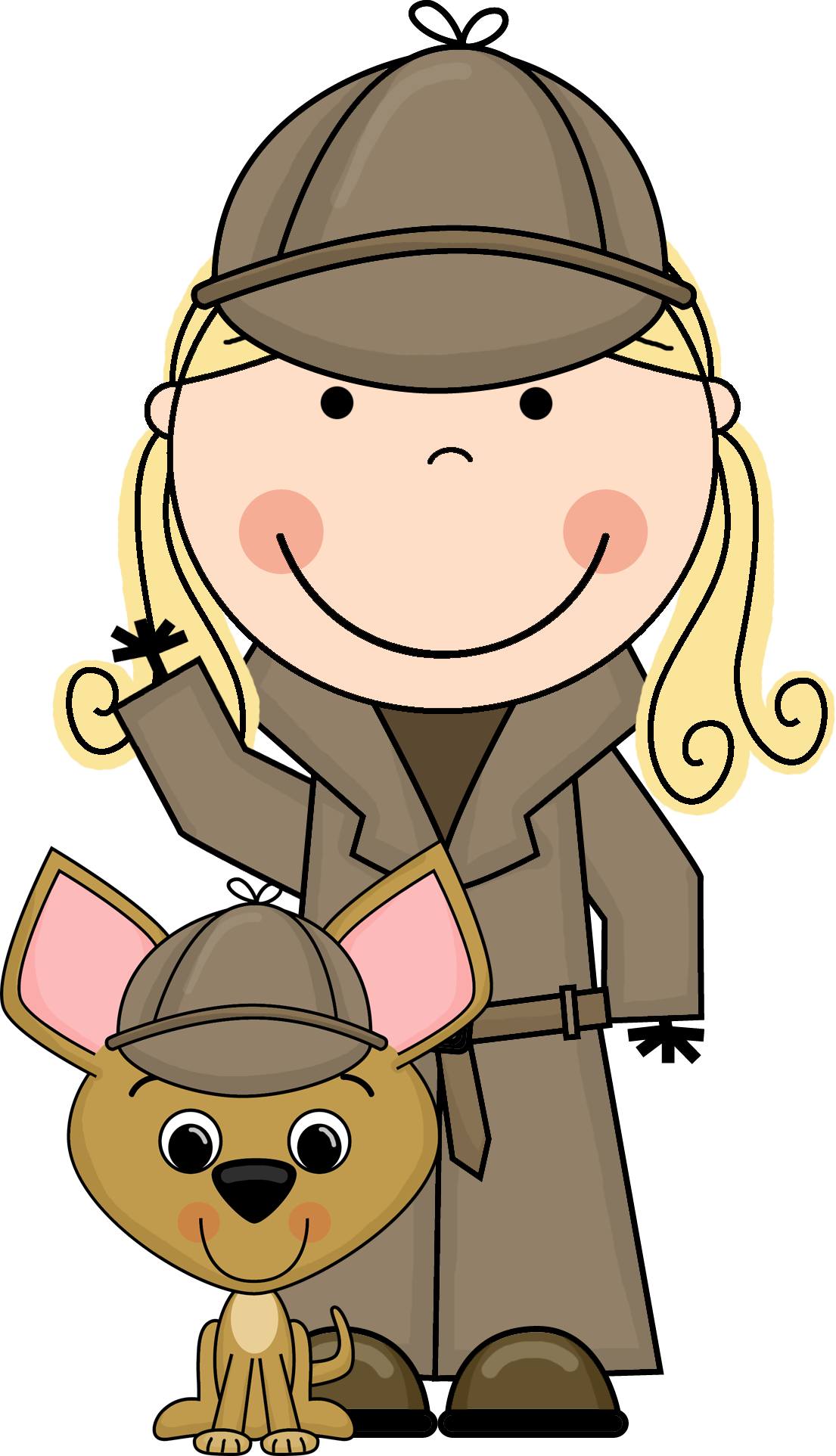 1105x1925 Detective Clipart To Download Dbclipart Image