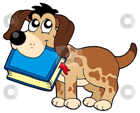 450x364 Graphics For Dog Reading Clip Art Graphics