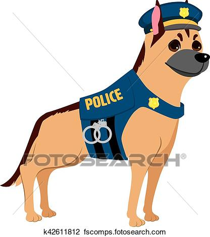 416x470 Police Dog Clipart And Illustration. 494 Police Dog Clip Art