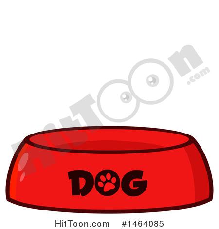 450x470 Dog Bowl Clipart