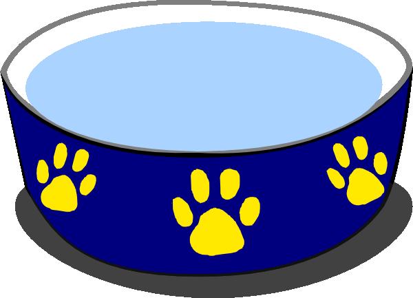 600x433 Dog Water Bowl Clip Art