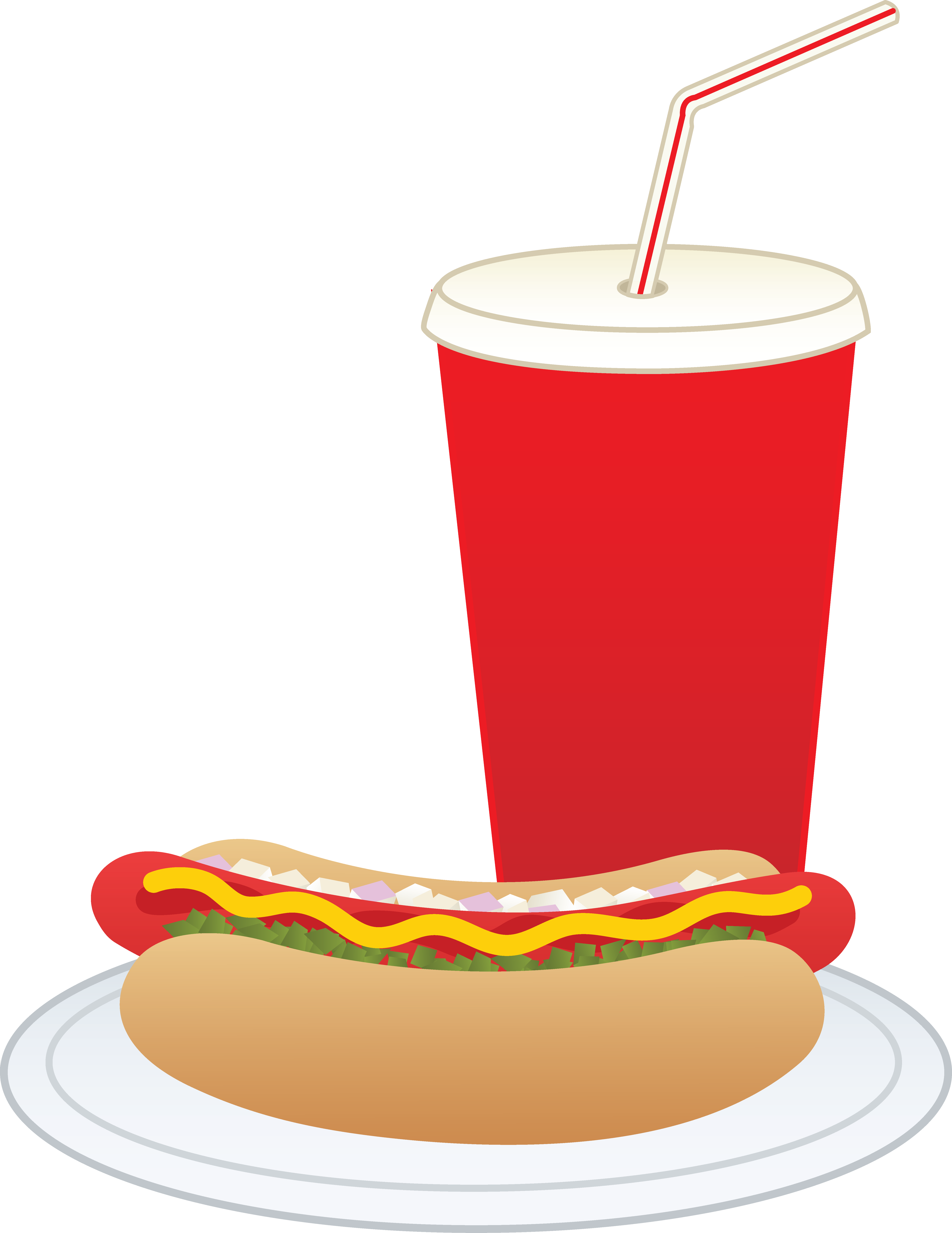 5642x7305 Hot Dog And Soft Drink
