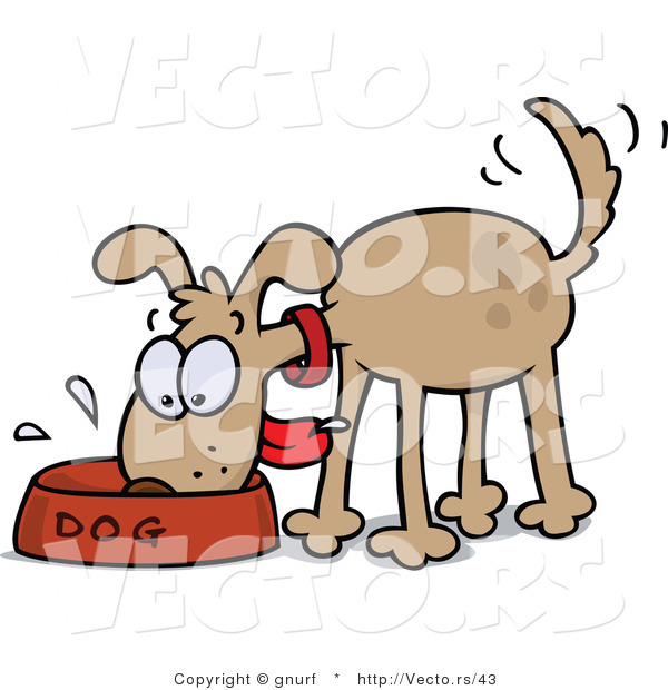 600x620 Graphics For Dog Eating Graphics