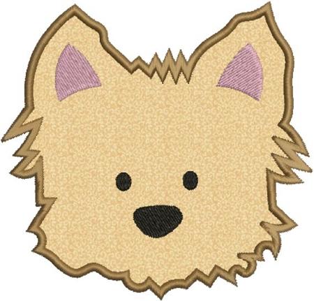 Dog Face Clipart