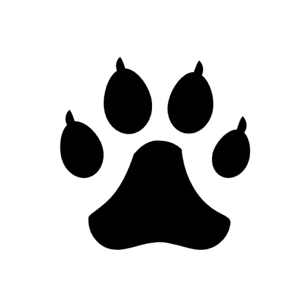 626x626 Dog Footprints Icons Free Download