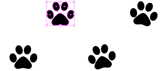 359e3b8e366e 531x232 Quick Tip How To Create A Simple Paw Print Scatter Brush In Adobe