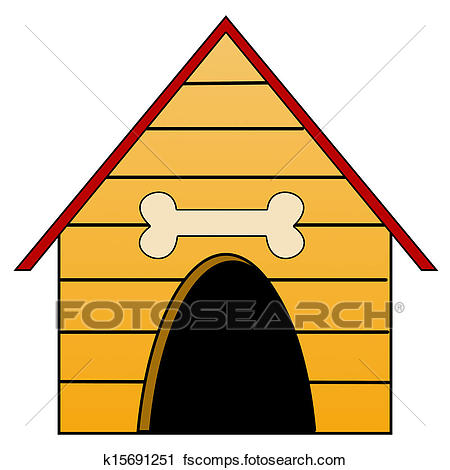 450x470 Dog House Stock Illustrations. 752 Dog House Clip Art Images