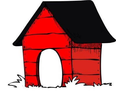 400x361 Clipart Dog House For Your Website Clipartmonk