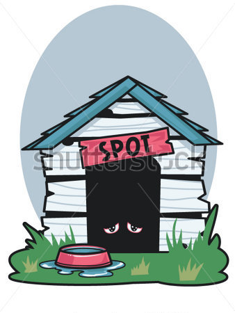 338x450 Dilapidated Clipart
