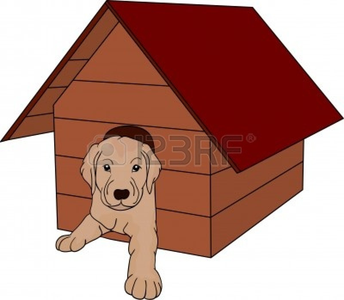 1200x1047 Dog House Clipart