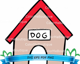 340x270 Doghouse Clipart Etsy