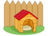 195x147 Free Dog House Clip Art Cliparts