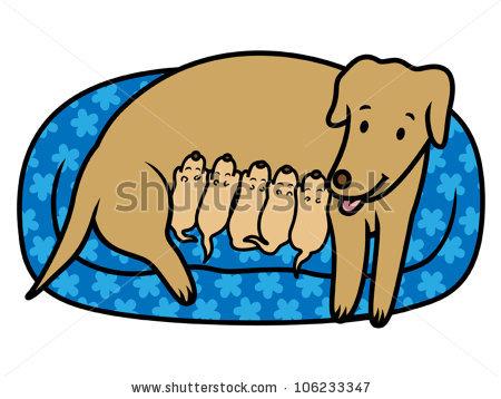450x358 Clip Art Dog Bed Clipart
