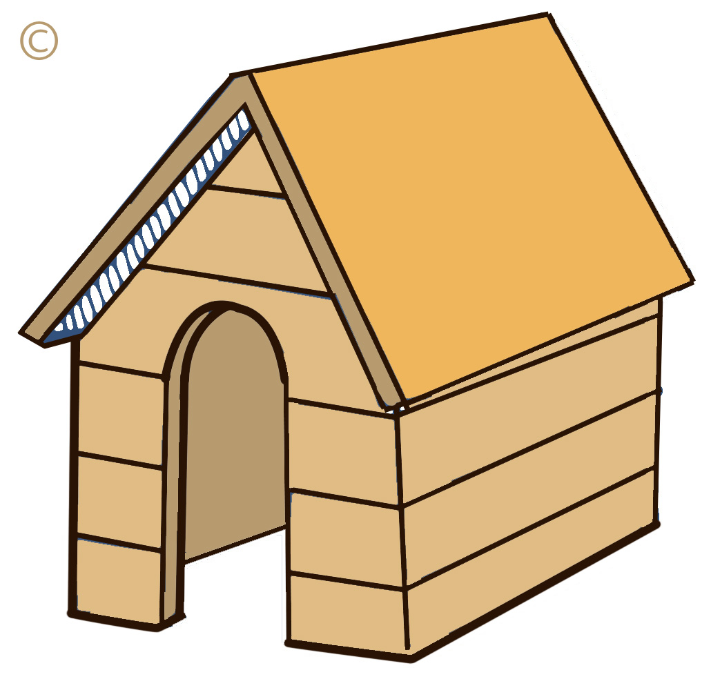1030x984 Dog Kennel Clipart