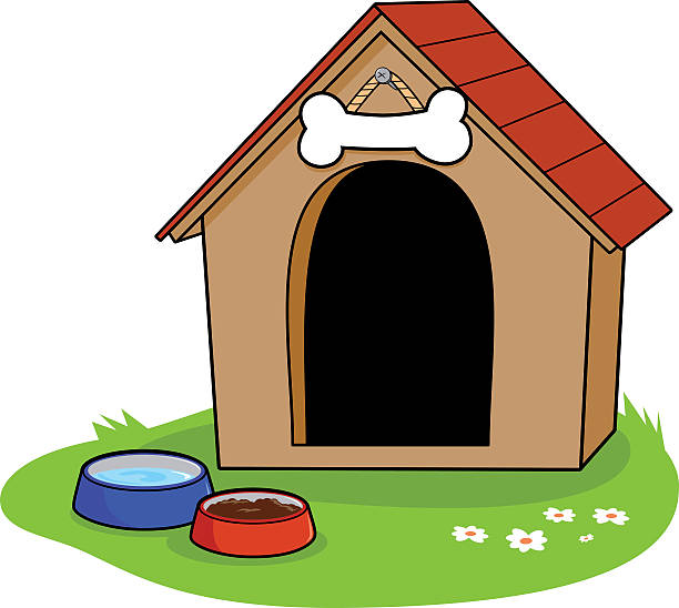 612x548 Dog Home Clipart