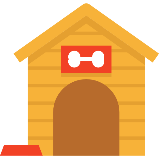 512x512 Kennel, Furniture And Household, Doghouse, Dog House Icon