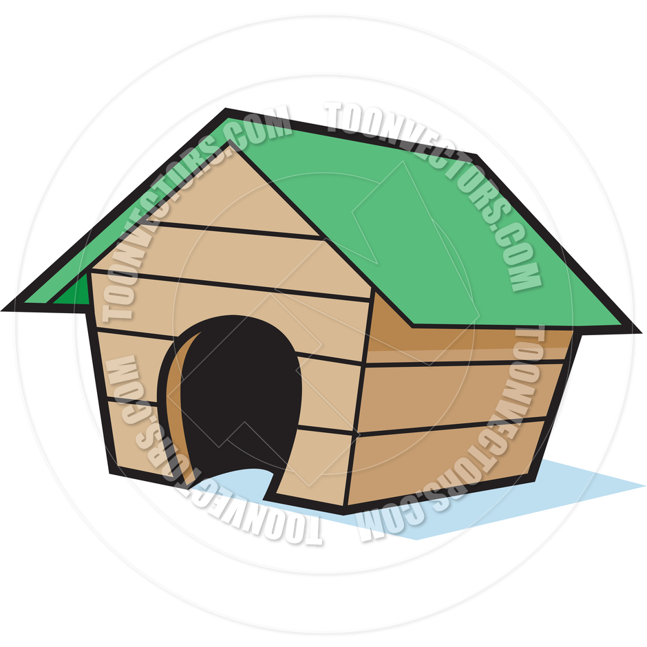 940x940 Cartoon Empty Dog House By Kenbenner Toon Vectors Eps