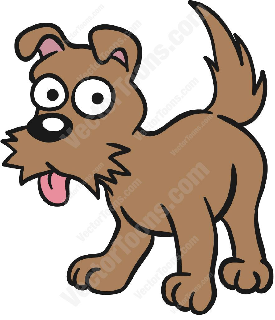883x1024 Brown Dog Standing With Its Tongue Hanging Out