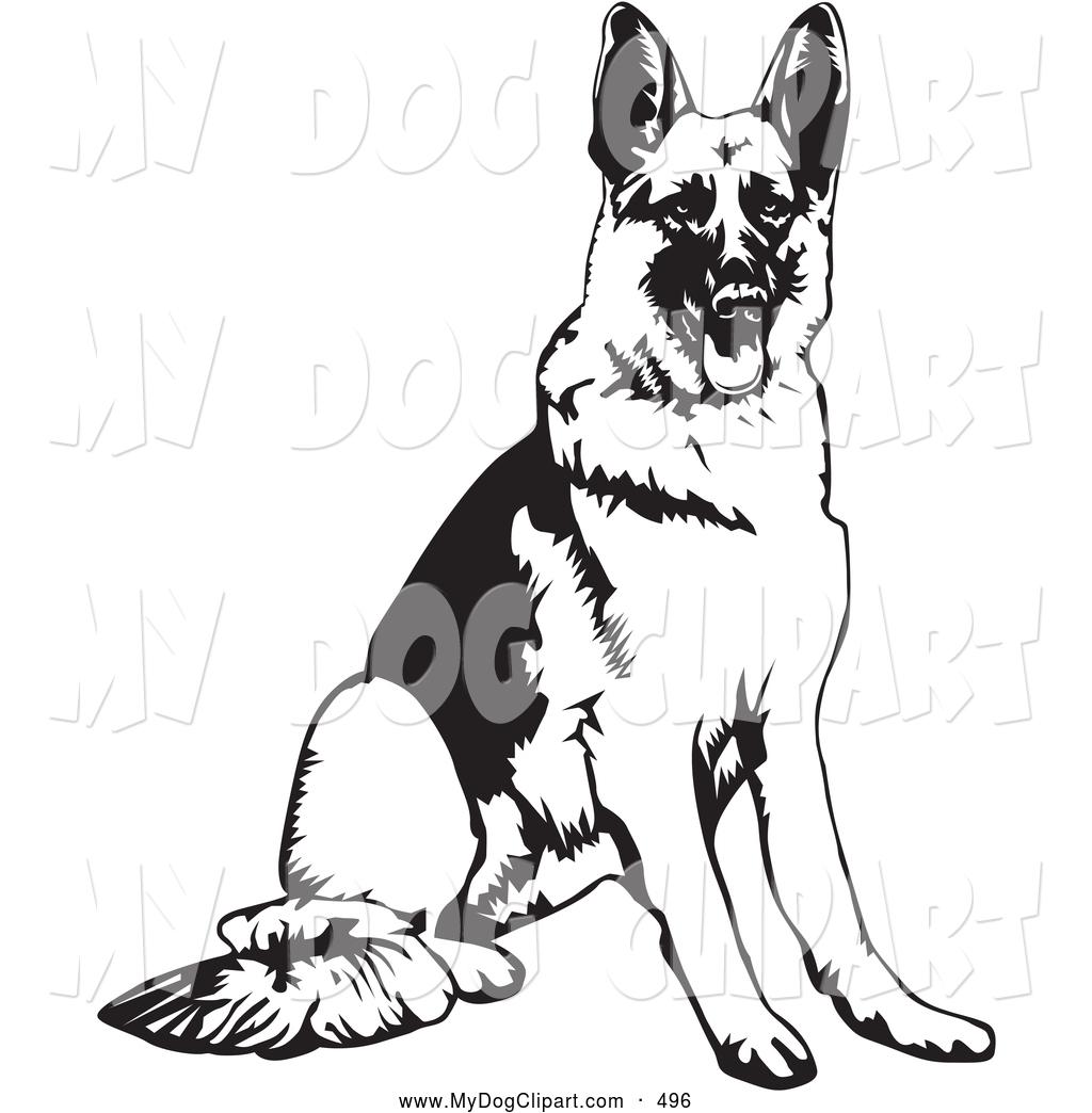 1024x1044 German Shepherd Dog Clipart